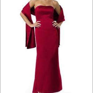 Black Satin Wrap for formal dress. Wrap only!